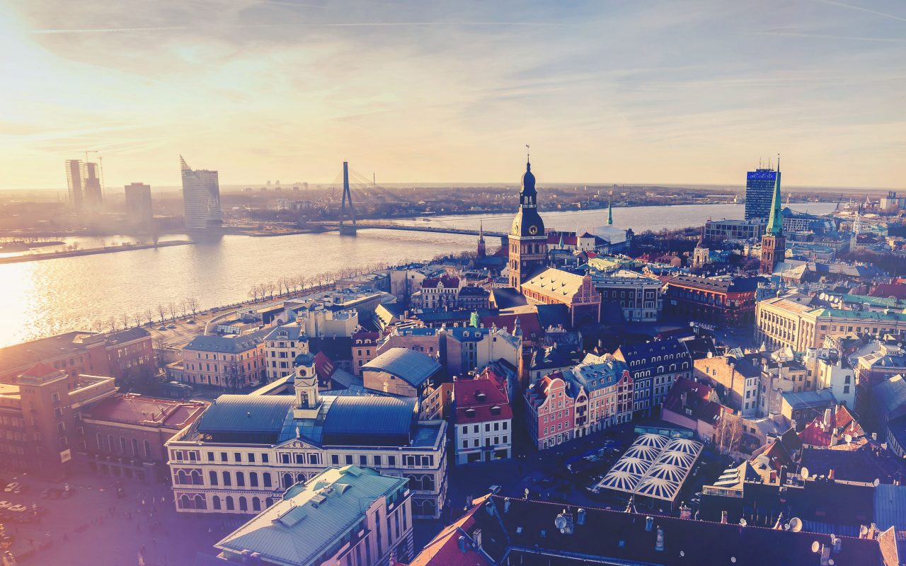 Arvato Systems_Corporate_Riga City View